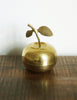 Brass Apple Trinket Bowl
