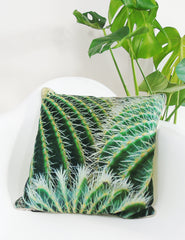 Cactus Print Cushion | The Den & Now