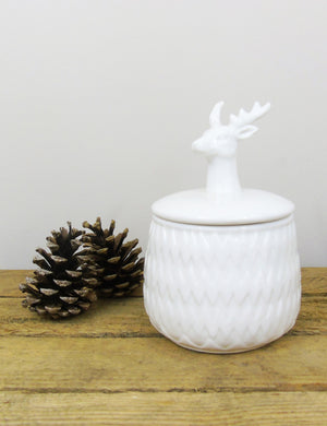 Ceramic Stag Trinket Bowl