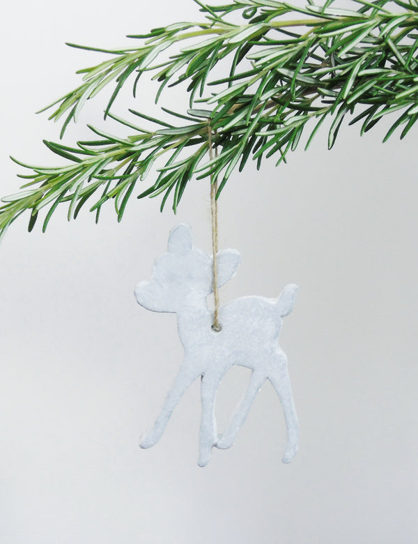 Concrete Animal Hanging Decorations - Deer