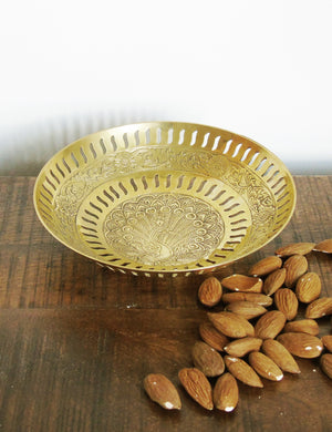 Decorative Brass Bowl