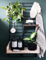 Fency Reclaimed Small Wall Storage Shelving Unit