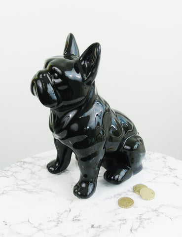 French Bulldog Ceramic Money Box
