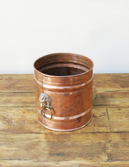 Victorian French Copper & Brass Planter | The Den & Now