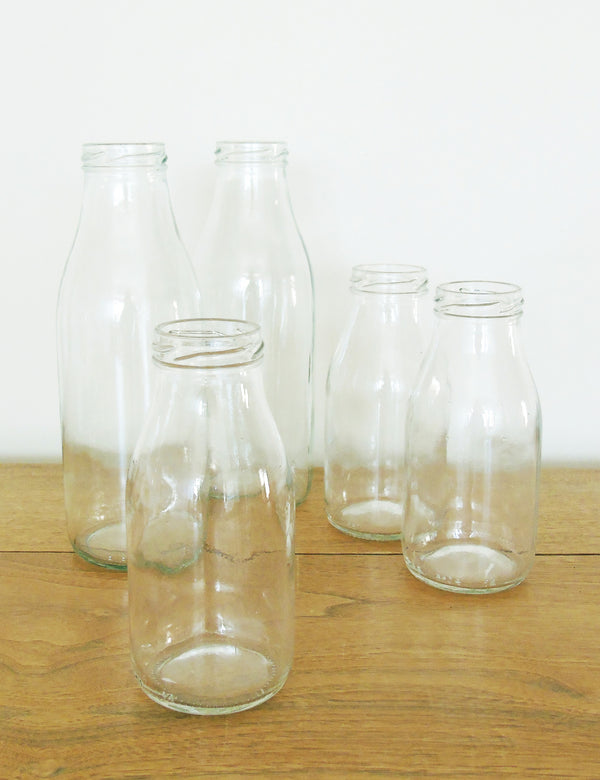 Glass Milk Bottles The Den Amp Now