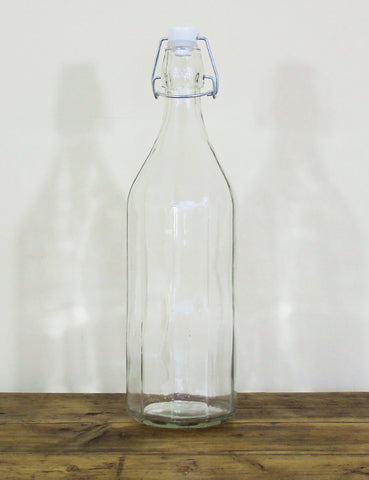 Retro Glass Water Bottle