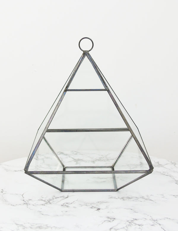 Glass Pyramid Terrarium The Den Amp Now