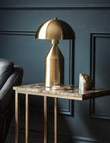 Gold Dome Table Lamp