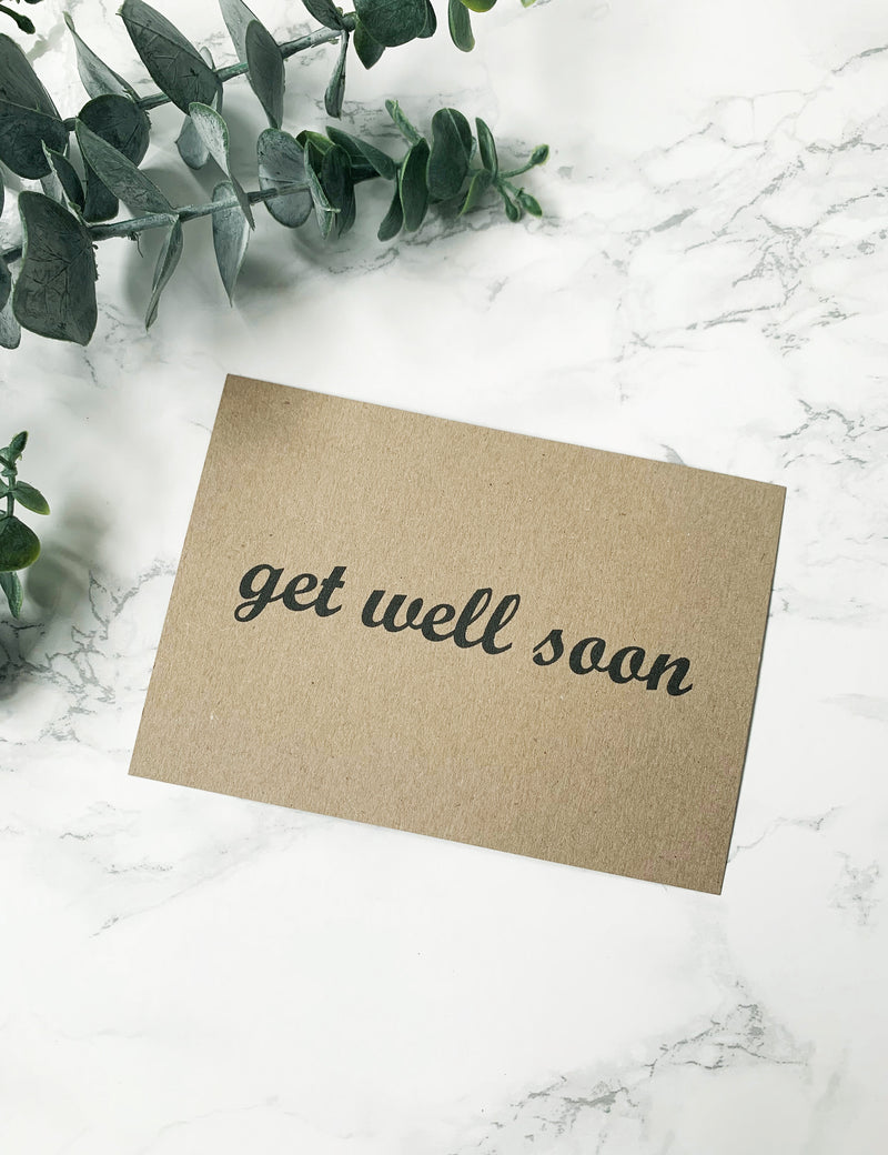 FREE Handwritten Personalised Notes - Get Well Soon