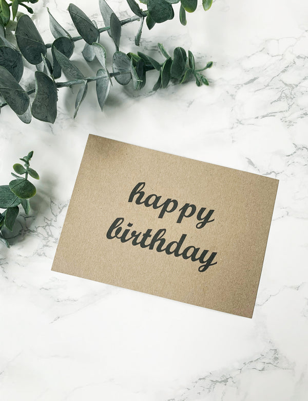 FREE Handwritten Personalised Notes - Happy Birthday