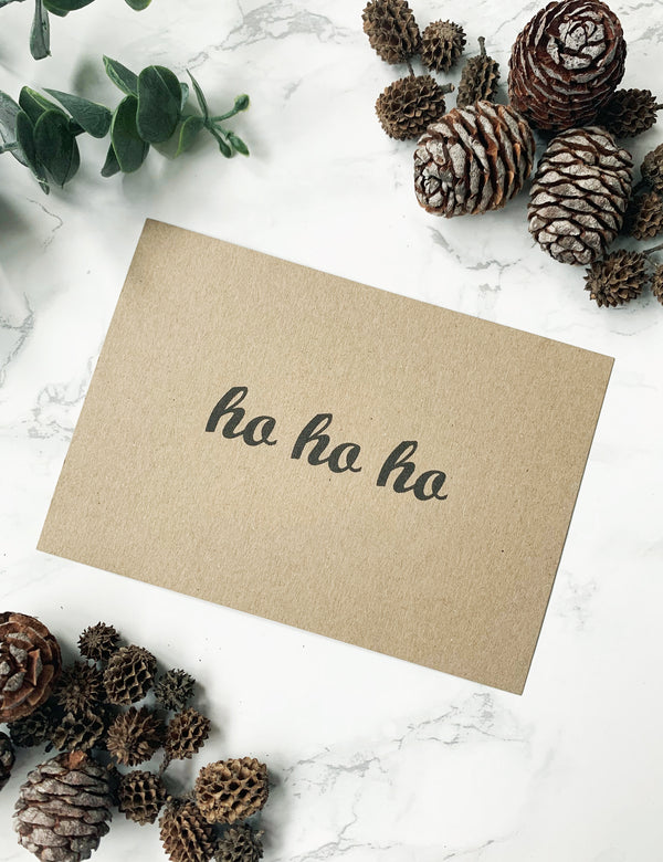 FREE Handwritten Personalised Christmas Notes - Ho Ho Ho