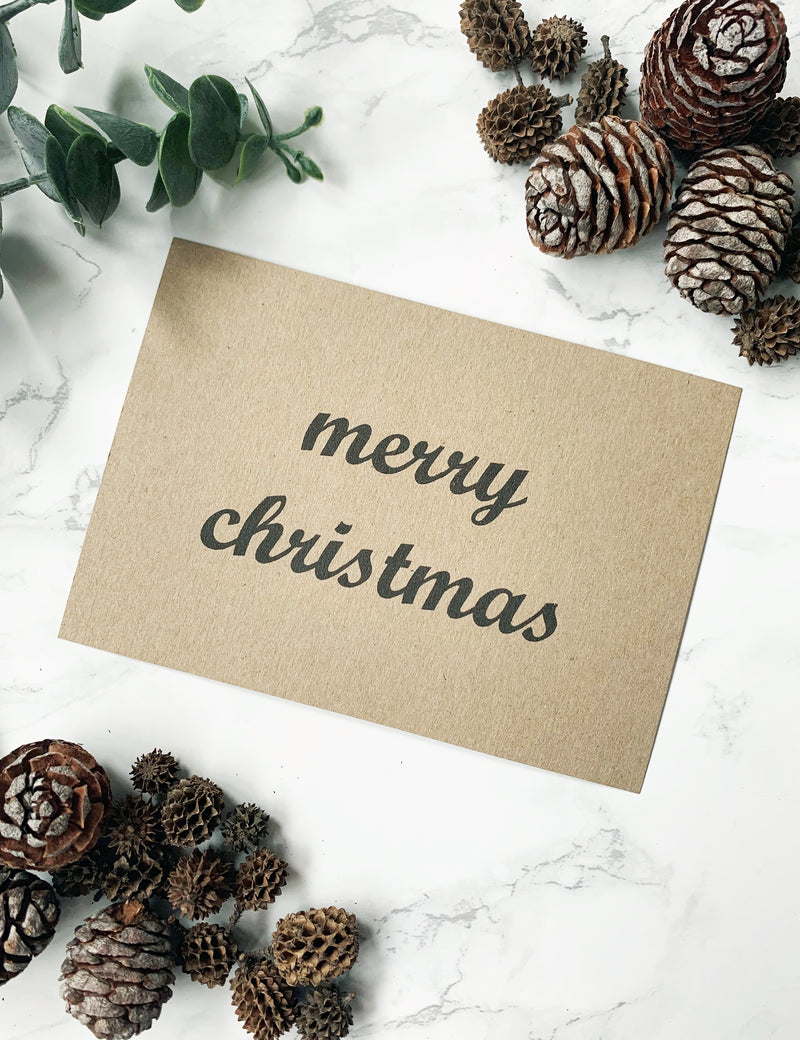 FREE Handwritten Personalised Christmas Notes - Merry Christmas