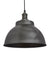 Industrial Brooklyn Dome Pewter Pendant Light by Industville