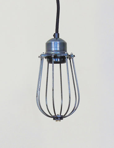 Industrial Cage Pendant Ceiling Light
