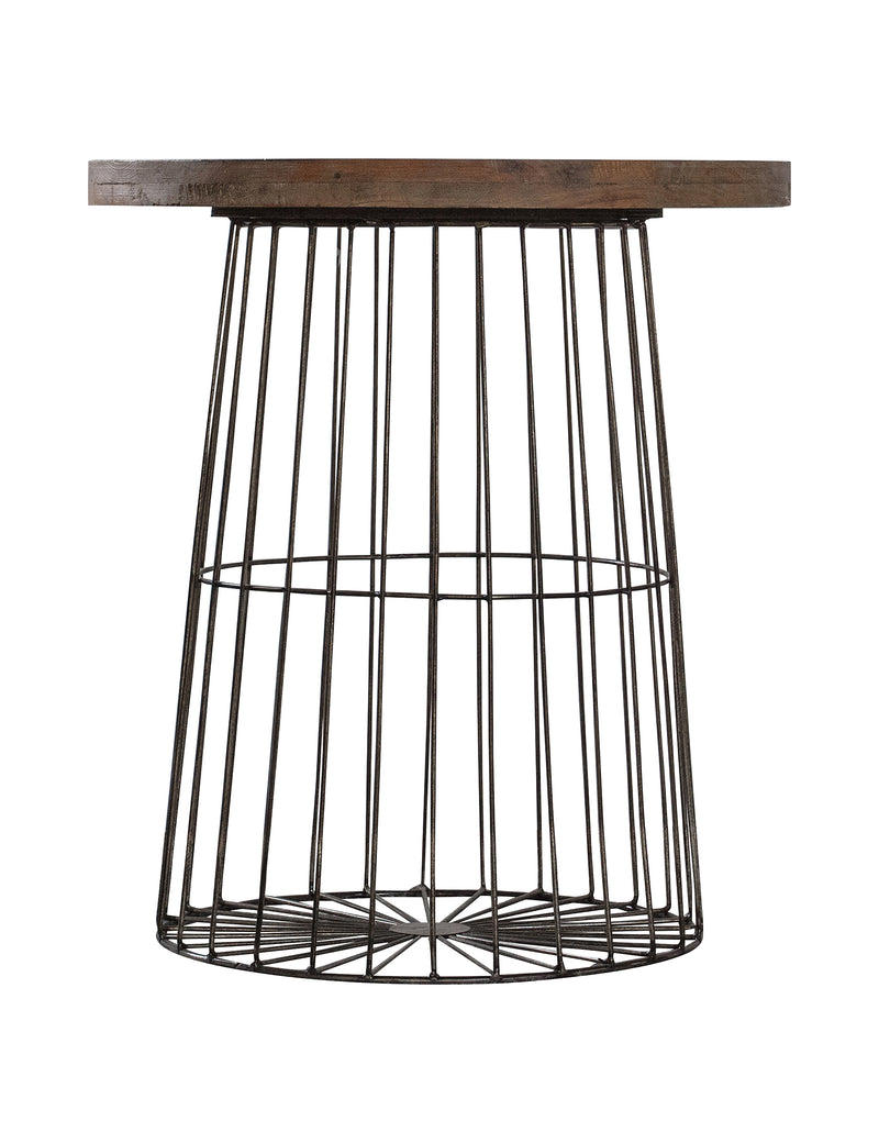 Industrial Cage Side Table