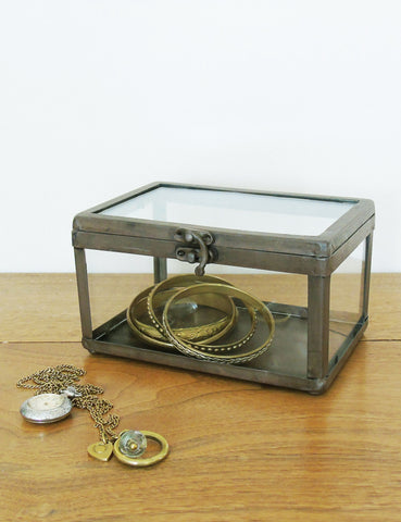 Industrial Glass Jewellery Box