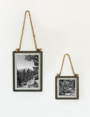 Industrial Hanging Picture Frames