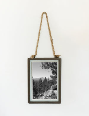 Industrial Hanging Picture Frame - Rectangular