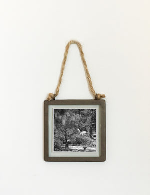Industrial Hanging Picture Frame - Square