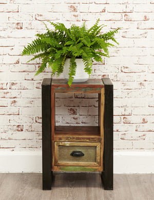 Industrial Reclaimed Bedside Table