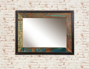 Industrial Reclaimed Mirror