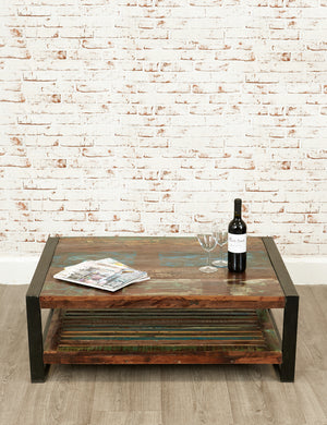Industrial Reclaimed Coffee Table