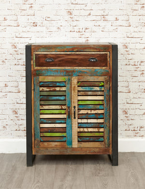 Industrial Reclaimed Shoe Cabinet