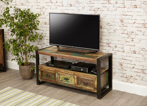 Industrial Reclaimed TV Stand