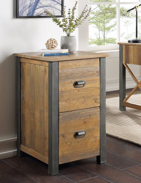 Industrial Rustic Filing Cabinet