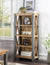 Industrial Rustic Freestanding Shelving Unit
