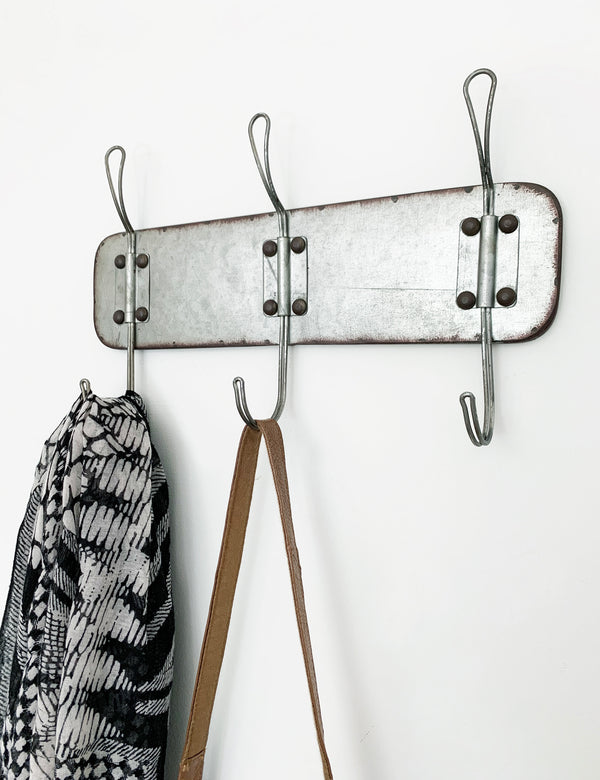 Industrial Wire Coat Wall Rack