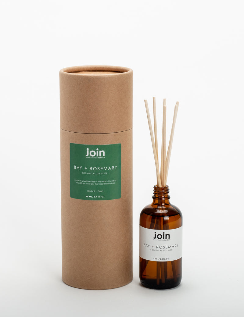Join Bay & Rosemary Essential Oil Reed Diffuser