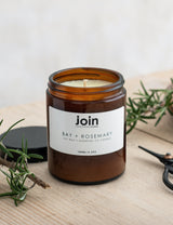 Join Bay & Rosemary Soy Wax & Essential Oils Candle
