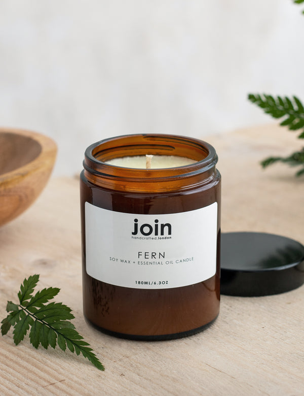 Join Fern Soy Wax & Essential Oil Candle