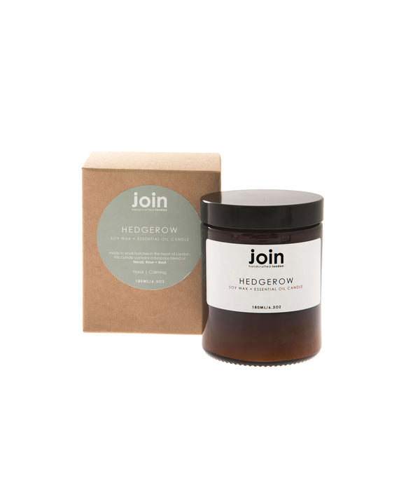 Join Hedgerow Soy Wax & Essential Oil Candle