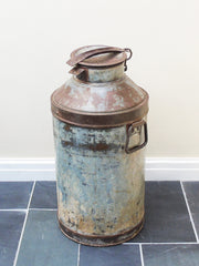 The Den & Now | Vintage Milk Churns
