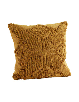 Mustard Textured Cushion