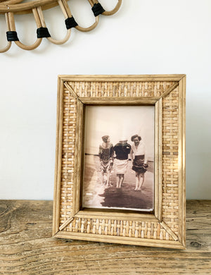 Rattan Natural Picture Frame