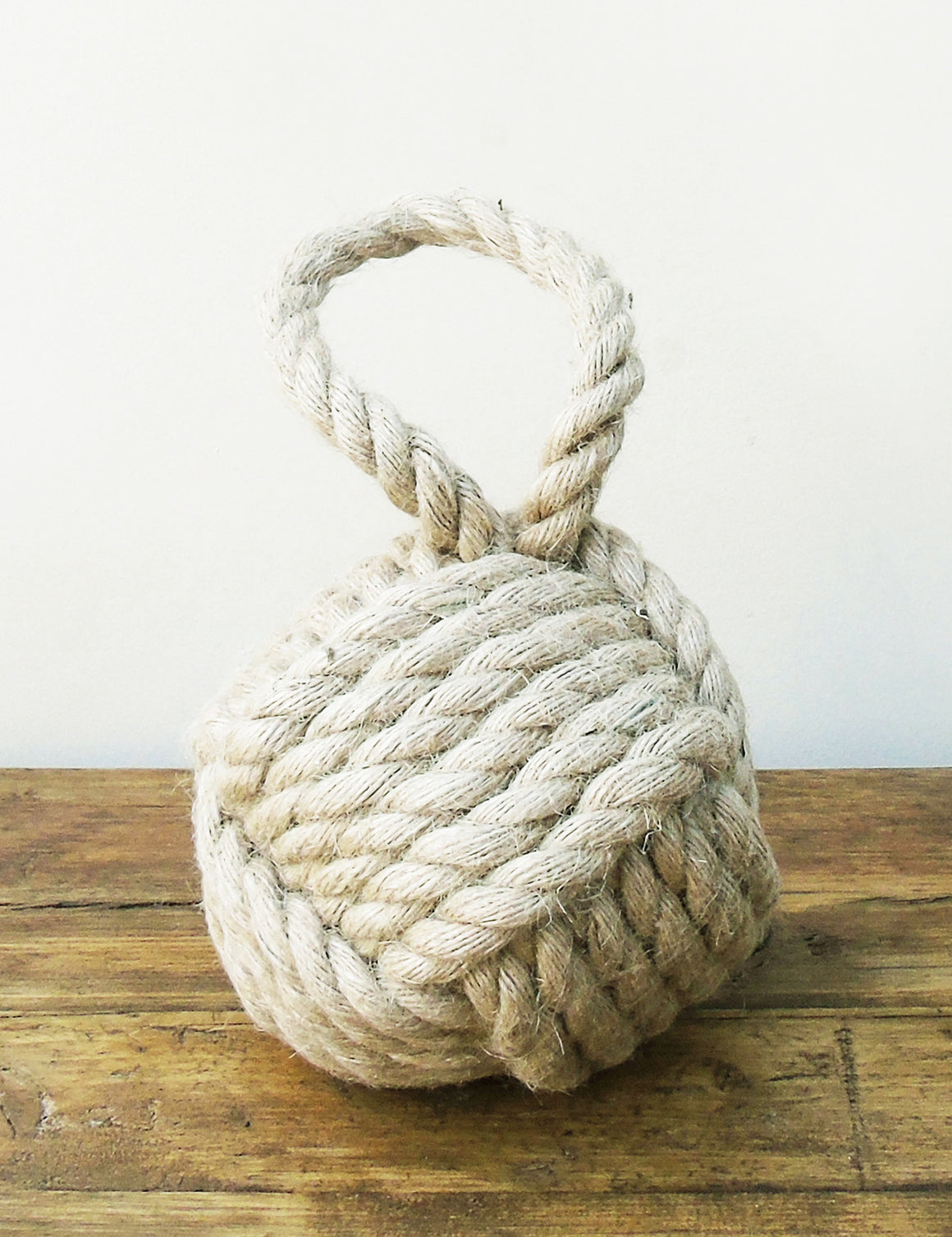 Natural Rope Knot Door Stop