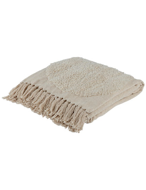 Natural Sunset Boho Throw