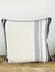 Nautical Striped Cushion | Buy Stylish Homeware | The Den & Now