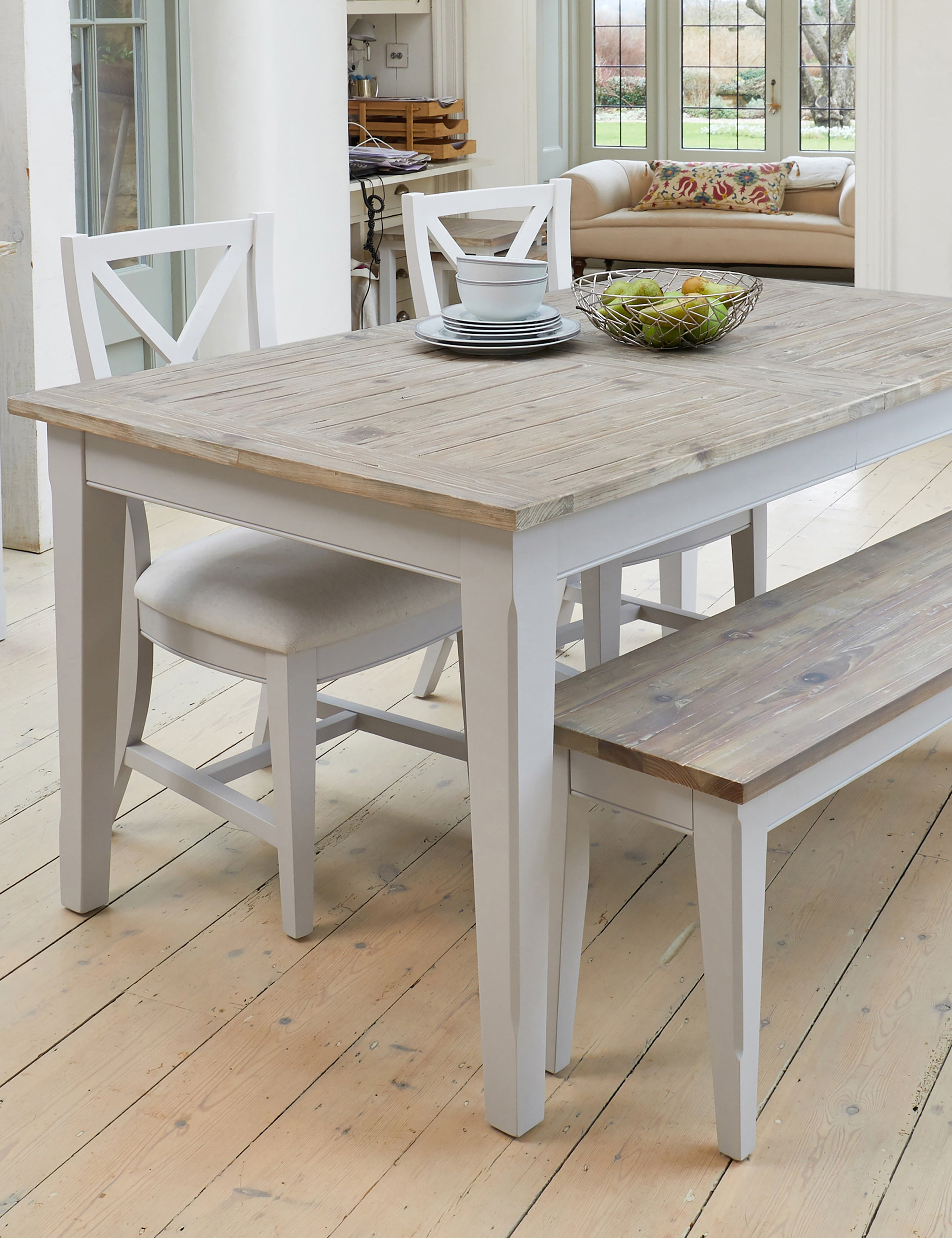 Great Nordic Grey Extending Dining Table