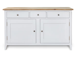 Nordic Grey Large Sideboard