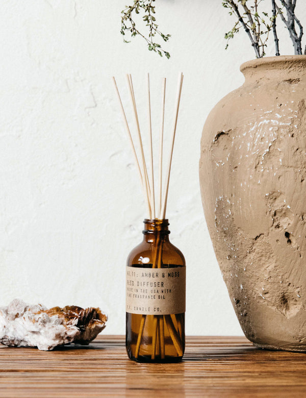 P.F. Candle Co. No. 11 Amber & Moss Reed Diffuser