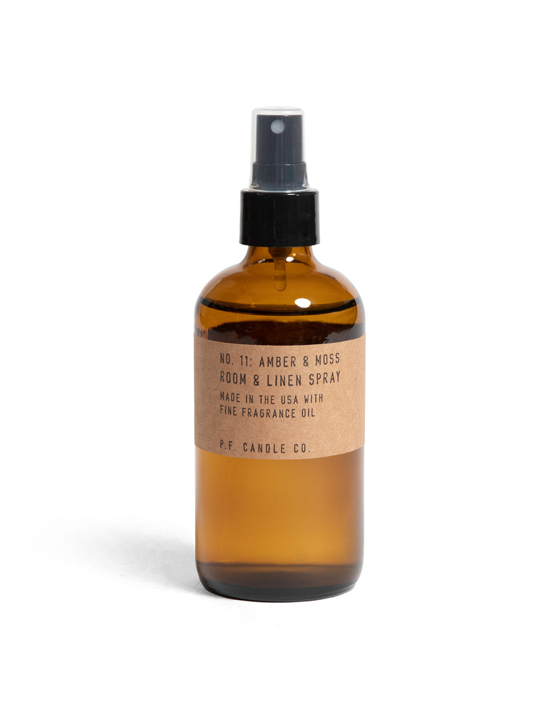 P.F. Candle Co. No. 11 Amber & Moss Room and Linen Spray