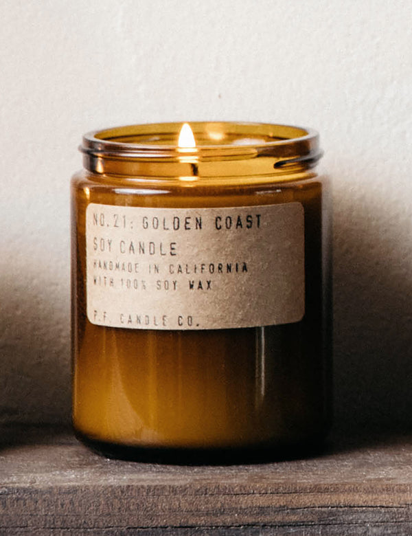 P.F. Candle Co. No. 21 Golden Coast Soy Candle