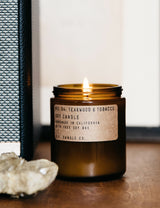 P.F. Candle Co. No. 04 Teakwood & Tobacco Soy Candle
