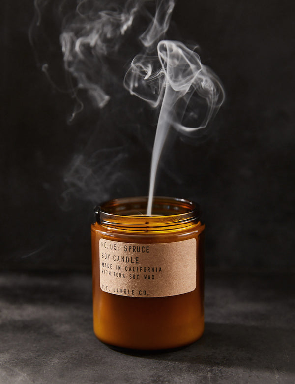 P.F. Candle Co. No. 05 Spruce Soy Candle
