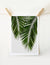 Palm Leaf Retro Art Print