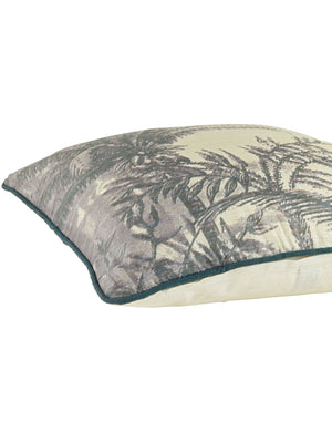 Palm Tree Vintage Print Cushion